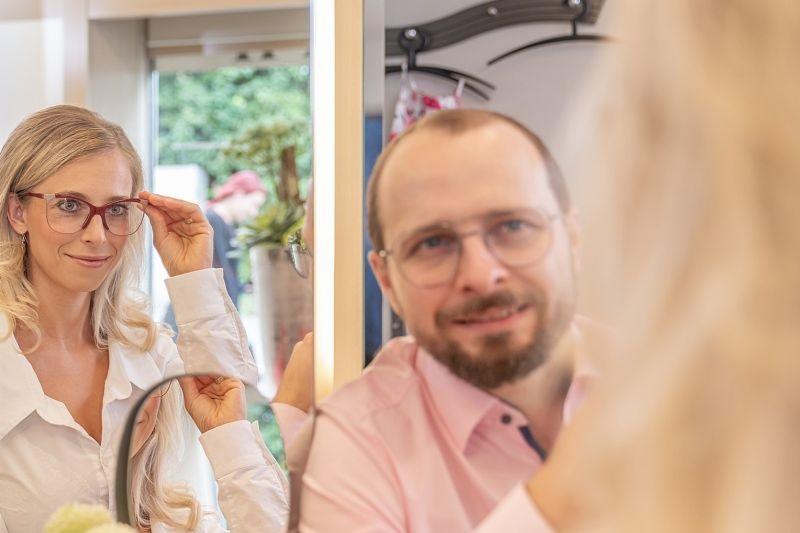 Home Service für Brillen im Brillenstudio Hahn