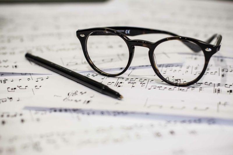 Hobbybrille, Musikbrille im Brillenstudio Hahn